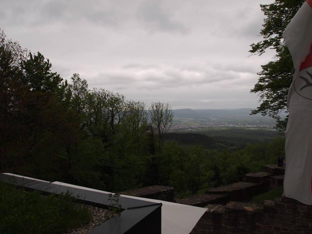 Blick von der Dachterasse